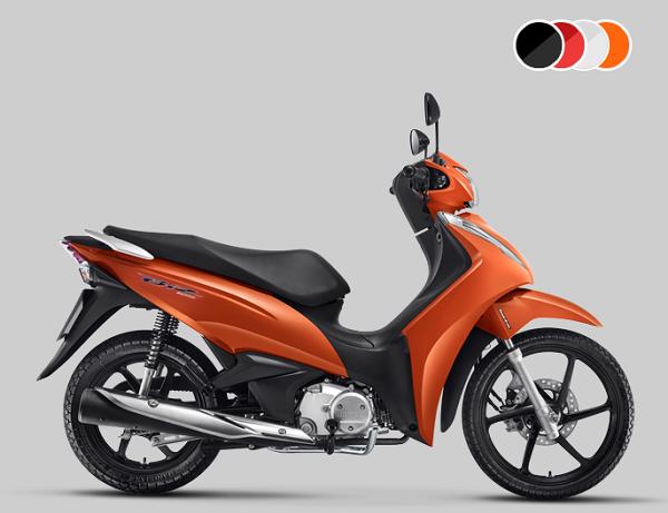 Honda Biz 2019 Preços Ficha Técnica Fotos