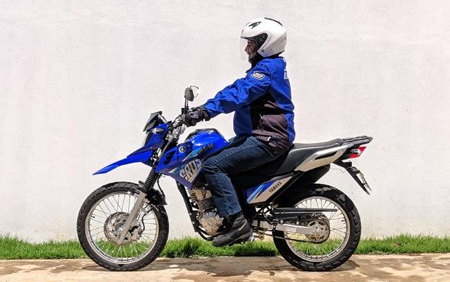 Itens de série Yamaha XTZ 150 Crosser 2020