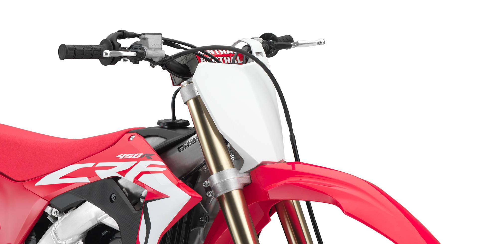 Itens de série Honda CRF 450R
