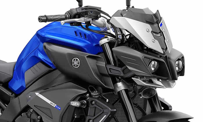Ficha técnica Yamaha MT 10