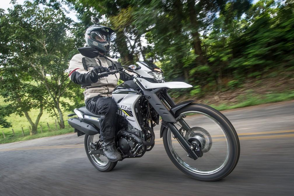 Consumo nova Yamaha Ténéré 250