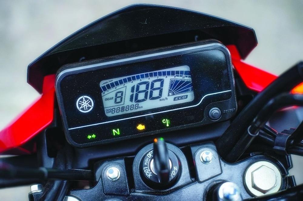 Itens de série Yamaha Factor 150 2020
