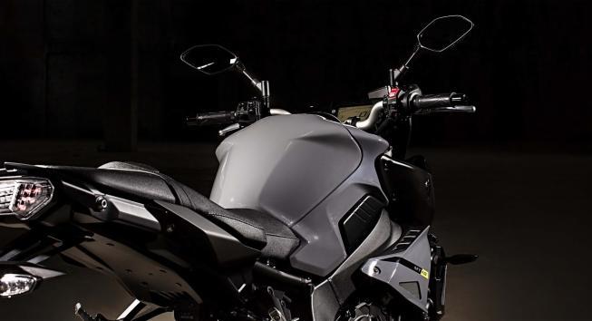 Itens de série da Yamaha MT