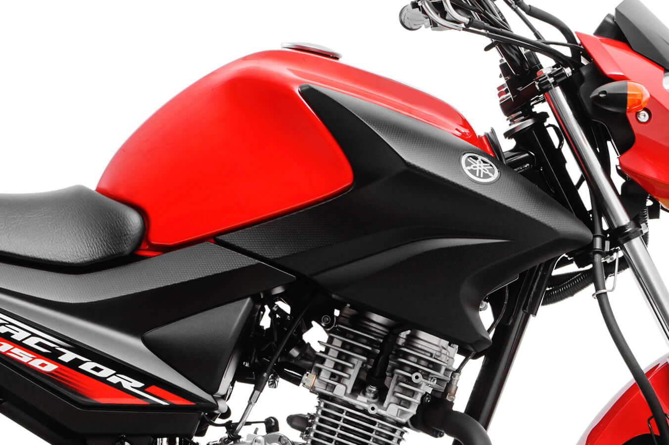 Itens de série Yamaha Factor 150
