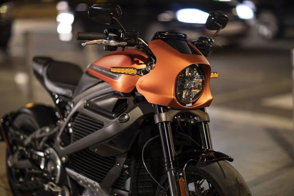 moto elétrica Harley-Davidson