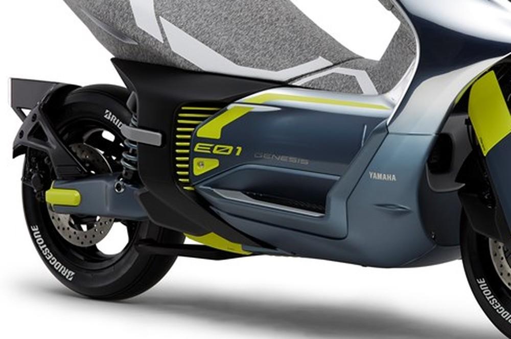 moto elétrica Yamaha