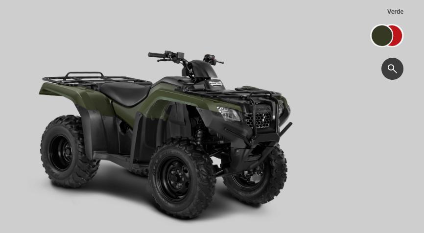 cores do Honda TRX 420 FourTrax