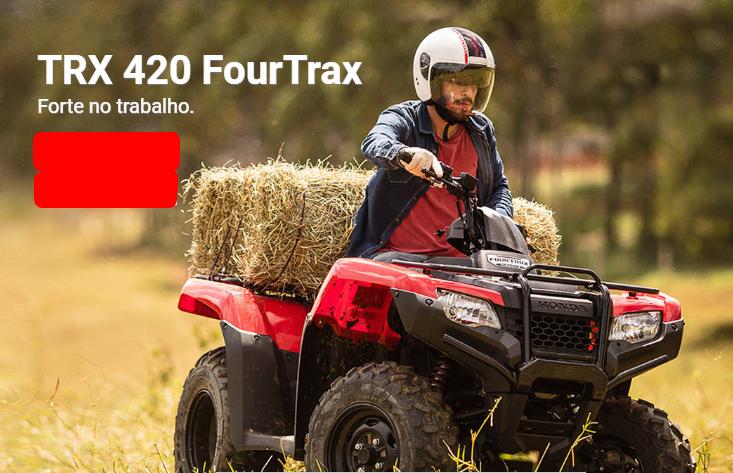 Honda TRX 420 FourTrax 2020