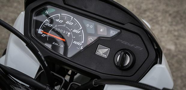 painel da Honda Pop 110i 2021