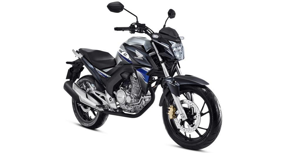 Honda CB Twister azul