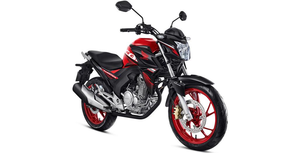 Honda CB Twister vermelha