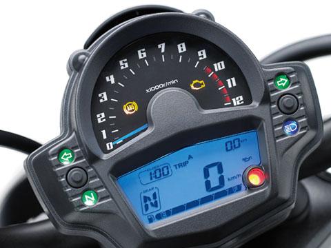 painel da Kawasaki Vulcan S 2021