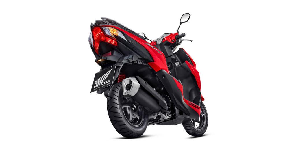 Honda Elite 125 vermelha
